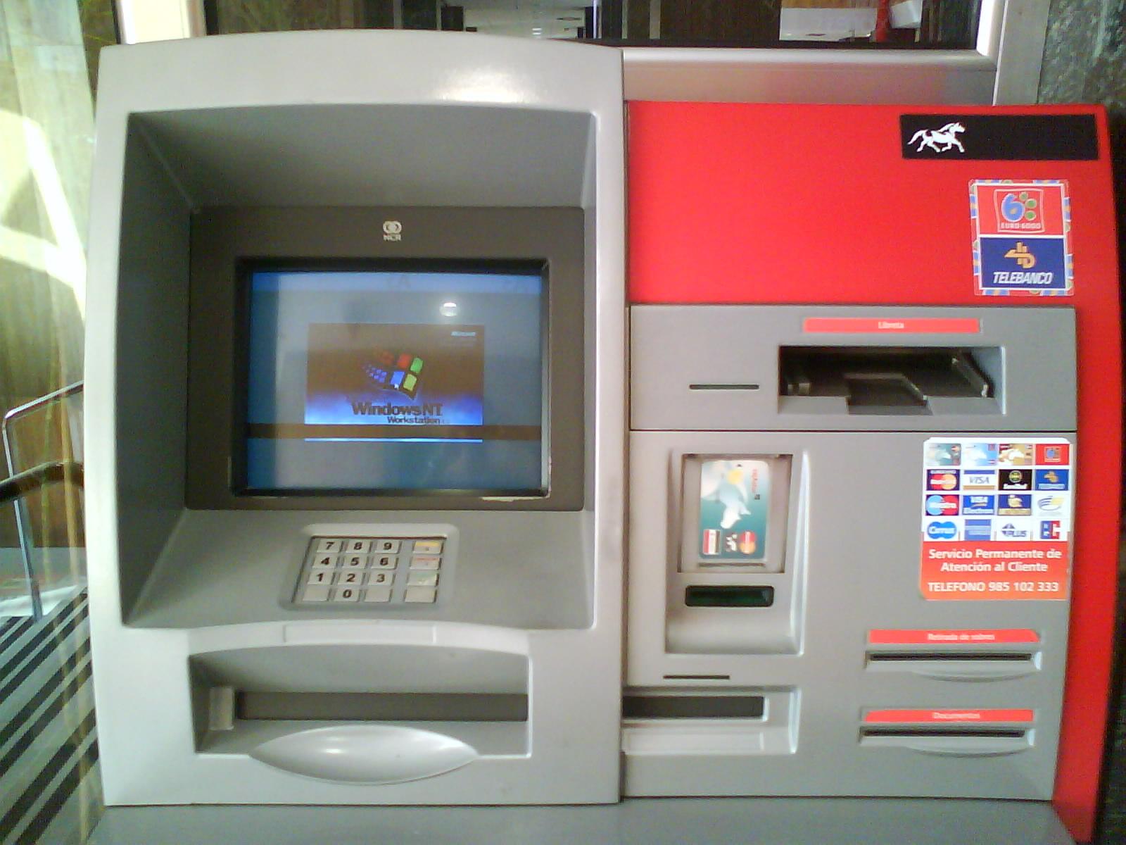 Cajero con Windows NT